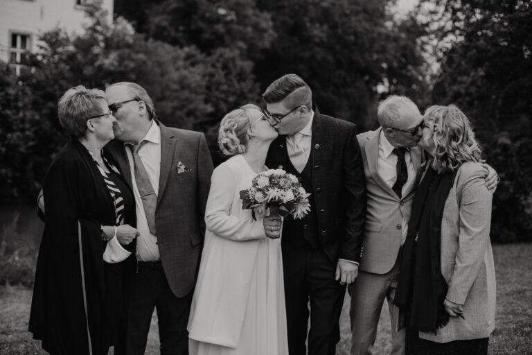 Generationenfoto Hochzeit